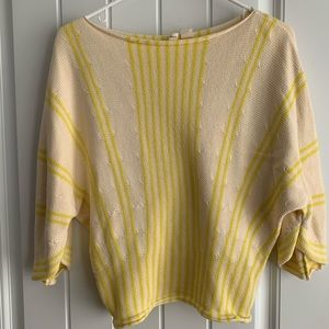 Anthropologie 3/4 Sleeve Dolman Sweater
